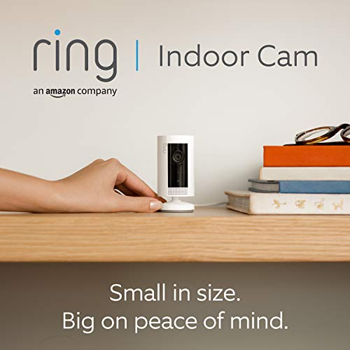 Introducing Ring Indoor Cam by Amazon | Compact Plug-In HD security camera with Two-Way Talk, Works with Alexa | With 30…