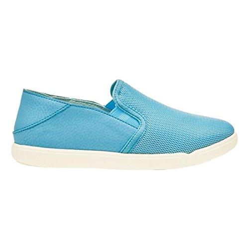OluKai Pehuea Maka Girls Slip-On Shoe Cotton Candy / Clearwater NcZ6c