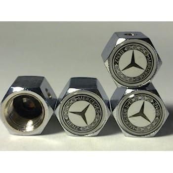MERCEDES BENZ Anti-theft Car Wheel Tire Valve Stem Caps(MS)