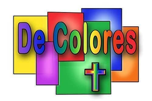Amazon.com: De Colores Stained Glass Panels Note Card: Handmade