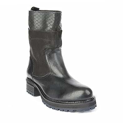 Felmini - Zapatos para Mujer - Enamorarse con Clara 9011 - Botines Cowboy & Biker - Genuine Cuero - Negro - 36 EU Size Precio bajo de la venta barata Oficial de venta Descuento Pick A Best Disfruta de Barato Online O0Efpwk