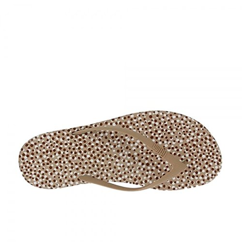 52507326f77 Fitflop iQushion Ergonomic Flip-Flops Nude Bubbles  Amazon.co.uk  Shoes    Bags