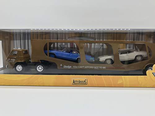M2 Machines Auto-Haulers 1969 Dodge L-600 COE, 1970 Super Bee 383, 1970 Super Bee HEMI S19 16-02 Triple Cars-Details Like NO Other! Rare!!!