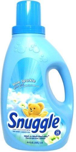 Snuggle Non-Concentrated Liquid Fabric Softener - Blue Spark