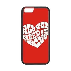 iPhone 6 4.7 Inch Cell Phone Case Black John Lennon zqpg