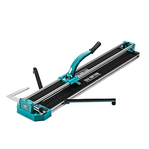 CO-Z Manual Tile Cutter 40 Inch Cutting Length Professional Porcelain Ceramic Floor Tile Cutter Machine Adjustable Laser Guide for Precision Cutting (40 inch)
