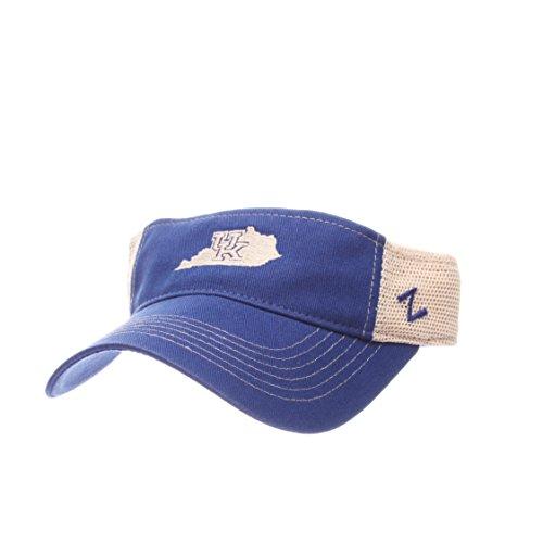 - ZHATS Kentucky Wildcats Trucker Mesh Velcro Visor Hat - NCAA UK Golf Cap, Men's One Size