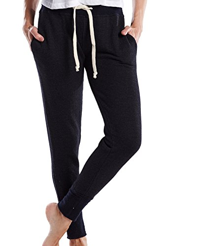 US Blanks Women's French Terry Sweatpant L Tri-Charcoal ()