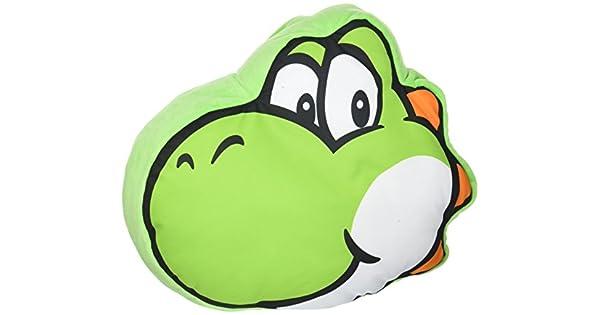 Amazon.com: Little Buddy Super Mario Bros. 1260 Yoshi Face ...