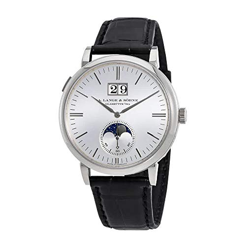 A Lange & Sohne Saxonia Moon Phase Automatic Men's Watch 384.026