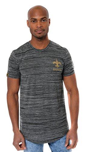 - ICER Brands Men's T Active Basic Space Dye Tee Shirt, Team Color, Bls, Large