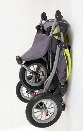 Mamakiddies GREEN02 - Silla de paseo todo terreno con 3 ruedas (de 0 a 2 años), color verde y gris: Amazon.es: Bebé