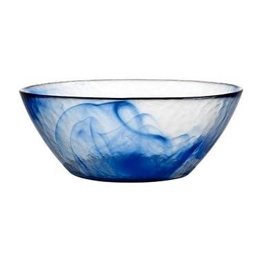Bormioli Rocco Murano Bowls, Small, Blue, Set of 6