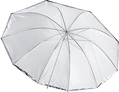 GTX Studio 60'' Umbrella 10 Panels, Front Diffuser, Silver/White (GS-SBSW60) by Yes Photo Group