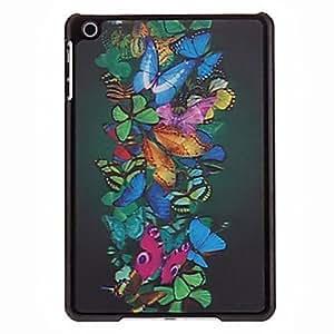 Mariposas 3D Patr¨®n Cluster nuevo caso para el iPad mini , Negro