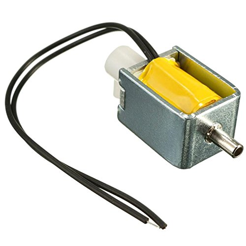 12V DC 2-position 3-way small Mini Electric Solenoid Valve for Gas Air / pump Small size