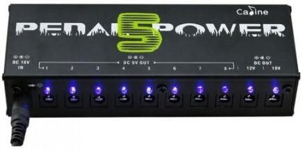 TOOGOO(R)CP-05 efectos de guitarra Pedales Fuente de alimentacion 8 Way DC 9V y 1 Way DC 12V y 18V 1 Way enchufe de la UE
