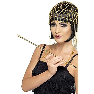 Smiffys Gold Extendable Cigarette Holder: Clothing