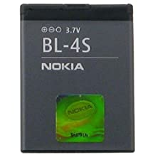 Nokia BL-4S/BL4S Lithium Ion Battery - Original OEM - Non-Retail Packaging - Black