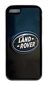 iPhone 4 4s Case, iPhone 4 4s Cases - Ultimate Protection Scratch Proof Soft Black Case for iPhone 4 4s Land Rover Car Logo 6 Fashion Style Rubber Case for iPhone 4 4s