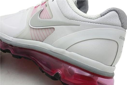 Nike AIR MAX 2010+ WOMENS 429846 100 (9.5, WHITENEUTRAL gran
