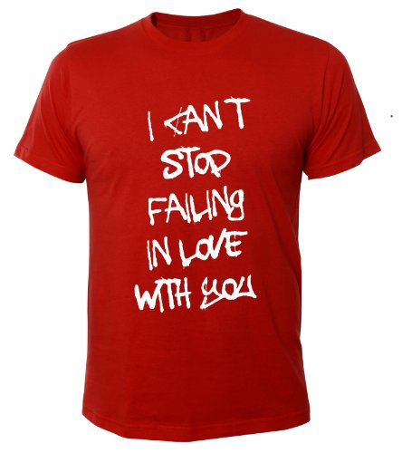 You Mister Red Homme Stop With Can´t T Cool I Merchandise In Tee Chemise Love Fun Failing shirt rqaZrnwC6