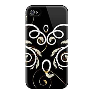 Hot Fashion YqI20528KDjo Design Cases Covers For Iphone 6 Protective Cases (roped Feather Heart)