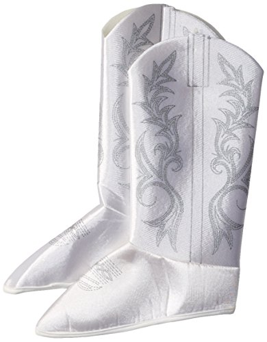 Rubie's Dallas Cowboys Cheerleader Child's Costume Boot-Tops, White -
