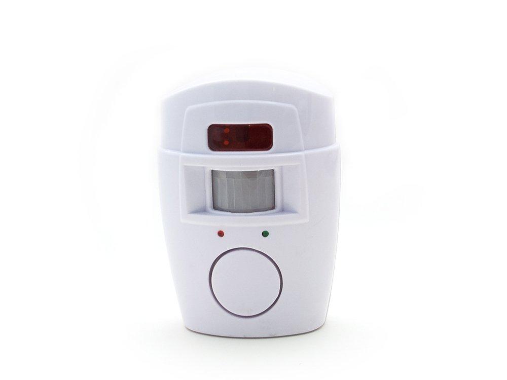 PIR Alarmanlage mit 2x IR-Fernbedienung Hausalarm Bewegungsmelder Alarm