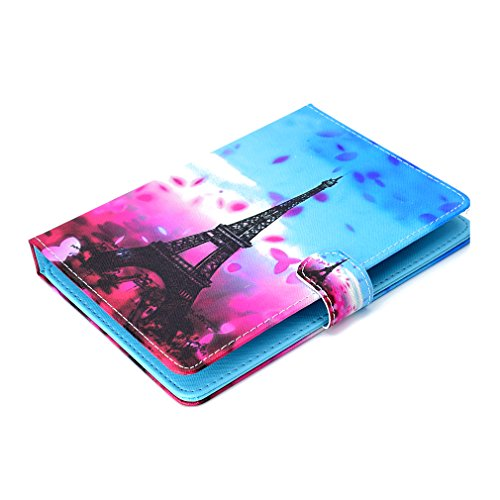 Pattern Bookstyle Foldable Ultra for Leather Stand Slot LMFULM® Case Thin PU 28 Purpose Case General Pad Closure Magnetic 10 for Color Butterfly Case Tablet Inch of Colorful Inch 10 Card zOTSzHwx