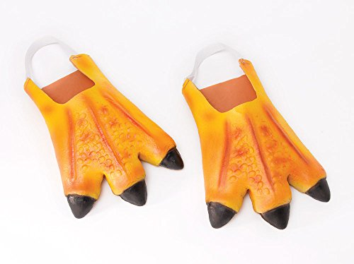 Adult's Rubber Chicken Feet (Costumes Chicken Feet)