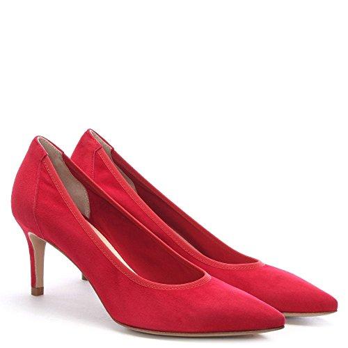 Court Suede Aloise Red Daniel Shoes XFwtqx6