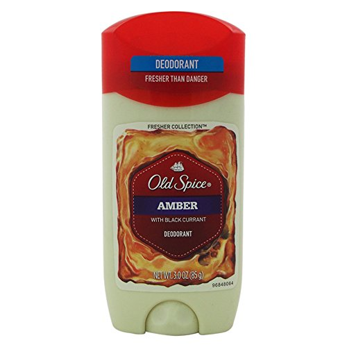 Old Spice Fresher Collection Men's Deodorant, Amber, 3 Ounce
