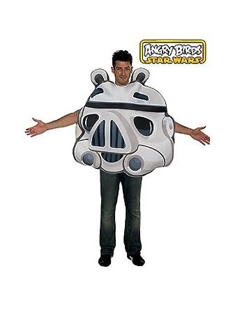 Disfraz Angry Birds Stormtrooper? adulto - Única: Amazon.es ...