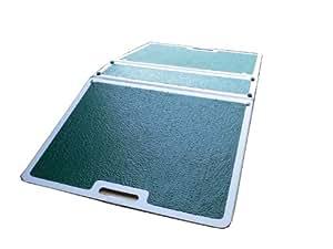 NRS - Rampa plegable para evitar escalones (fibra de vidrio)