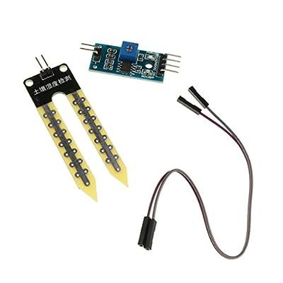 MonkeyJack Moisture Detection Sensor Module Soil Water for Arduino Raspberry Pi