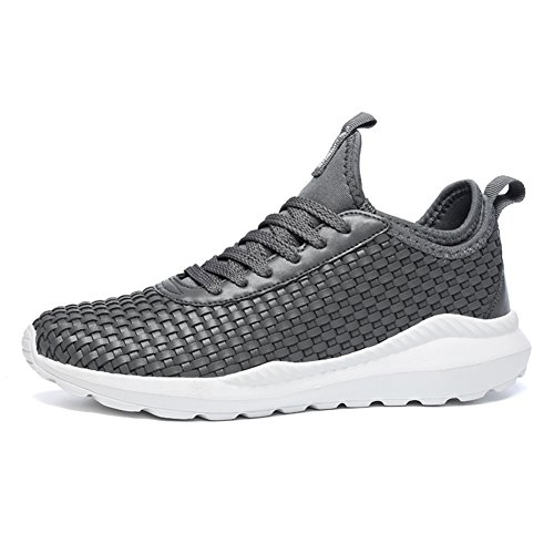 fereshte Walking 5 Size Sneakers Lightweight Shoes Adults' Unisex Fitness 1 Running Need Gym up Sports 1 269grey Men Trainers rXwXSAq