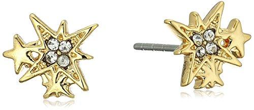 Rebecca Minkoff Stargazing Gold Stud Earrings