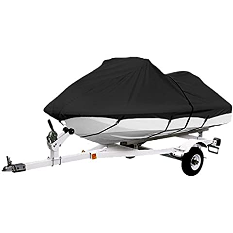 Black Trailerable PWC Personal Watercraft Cover Covers Fits 2-3 Seat Or 127