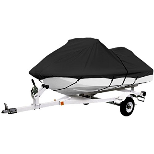North East Harbor Black Trailerable PWC Personal Watercraft Cover Covers Fits 2-3 Seat Or 139