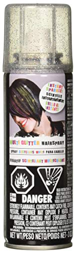 Amscan Multicolor Glitter Hairspray, Party Accessory, One Size]()
