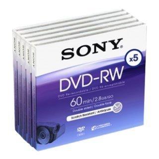 SONY DVD-RW 2.8Gb 8cm 60min Pa