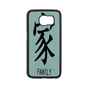 Custom Cute Stitch-Ohana means family phone Case Cove For Samsung Galaxy S6 Edge SM-G925 XXM9149894