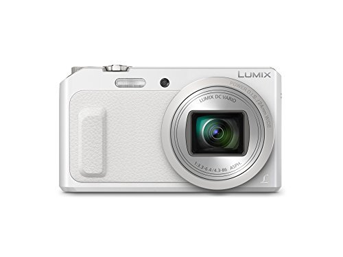 Panasonic DMC-ZS45 LUMIX 20X Zoom Camera with Wink-Activated Selfie Feature (Black)