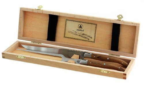 Original Laguiole Tranchierbesteck Set in Holzbox
