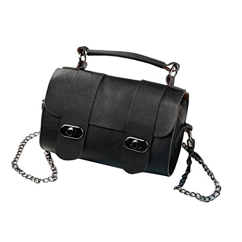 Handbag Chain GBSELL Black Women Body Leather Bag Shoulder Fashion Cross Bucket gA6wP