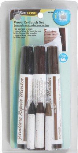 dritz-44159-dark-wood-re-touch-marker-set-assorted