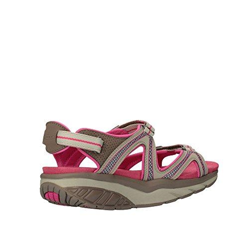 MBT - Sandalias de vestir para mujer rosa moss sand 16