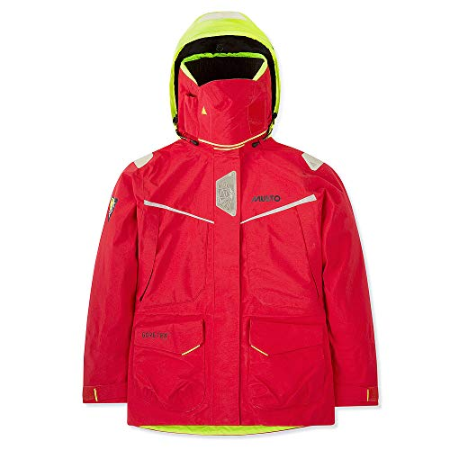 Musto MPX Gore-Tex Pro Offshore Jacket Women's Waterproof, Windproof, and Breathable Red 8