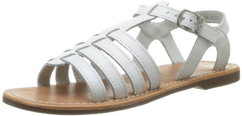 Aster Girl White Vibride Sandal EU 28 US Size 10.5M